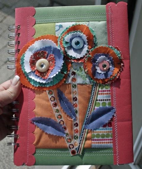 Handmade art journal rak kim 39 s kreative korner for Art and craft file cover decoration