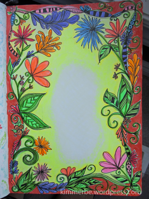 Doodle border2