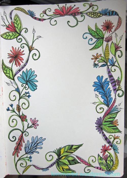 Doodle border3
