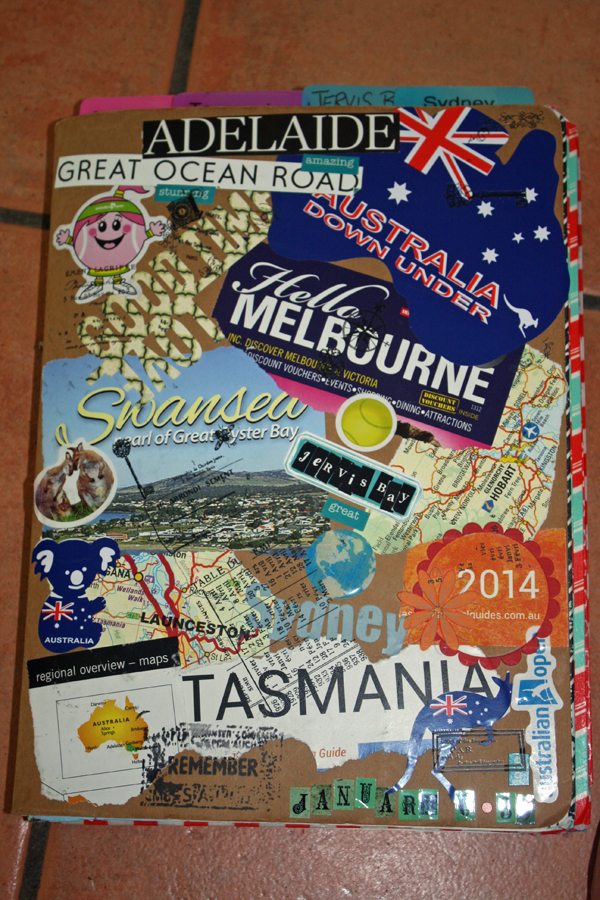 my travel journal australia kim s kreative korner